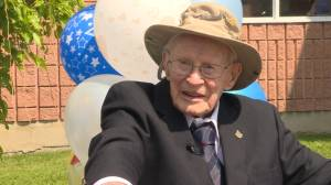 Kingston-area Second World War veteran celebrates 100th birthday