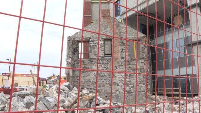 Click to play video: Property owner says Kingston heritage building will be rebuilt after Christmas Day collapse