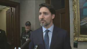 Trudeau says Scheer 'disqualified himself' from leaders discussion on blockades with 'unacceptable speech'