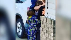 Vancouver fire chief drives 13 hours to surprise his children after weeks away from home