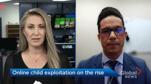 Online child exploitation on the rise: ALERT (04:41)