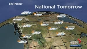 Play video: Edmonton weather forecast: Oct 24
