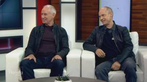 Ron McLean and Kurt Browning