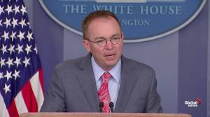 Mulvaney explains why Ukraine had funding withheld