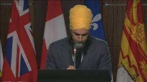 'We're going to fight for justice for you': Jagmeet Singh on residential school burial sites (03:15)