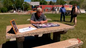 Drumheller father of suspected overdose victim remembers daughter as funds raised for memorial (01:51)