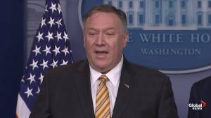 Mike Pompeo reacts to Trump's firing of John Bolton, says he's 'entitled to staff that he wants'