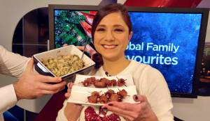 Daintre Christensen's delicious dip and bacon-wrapped dates