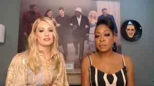 Stars of hit show 'The Neighborhood' discuss hotly awaited Season 2 (05:25)