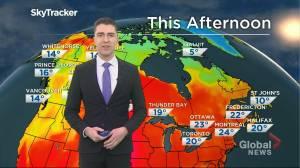 Saskatchewan weather outlook: June 15