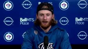 RAW: Winnipeg Jets Kyle Connor Interview – May 14 (03:01)