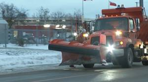 Pilot project lets Kingston residents see when city has plowed municipal streets (01:38)