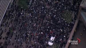 Regis Korchinski-Paquet death: Toronto protesters march in memoriam, against anti-Black violence