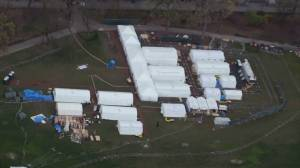 Coronavirus outbreak: Field hospital up and running in Central Park to assist New York's COVID-19 pandemic