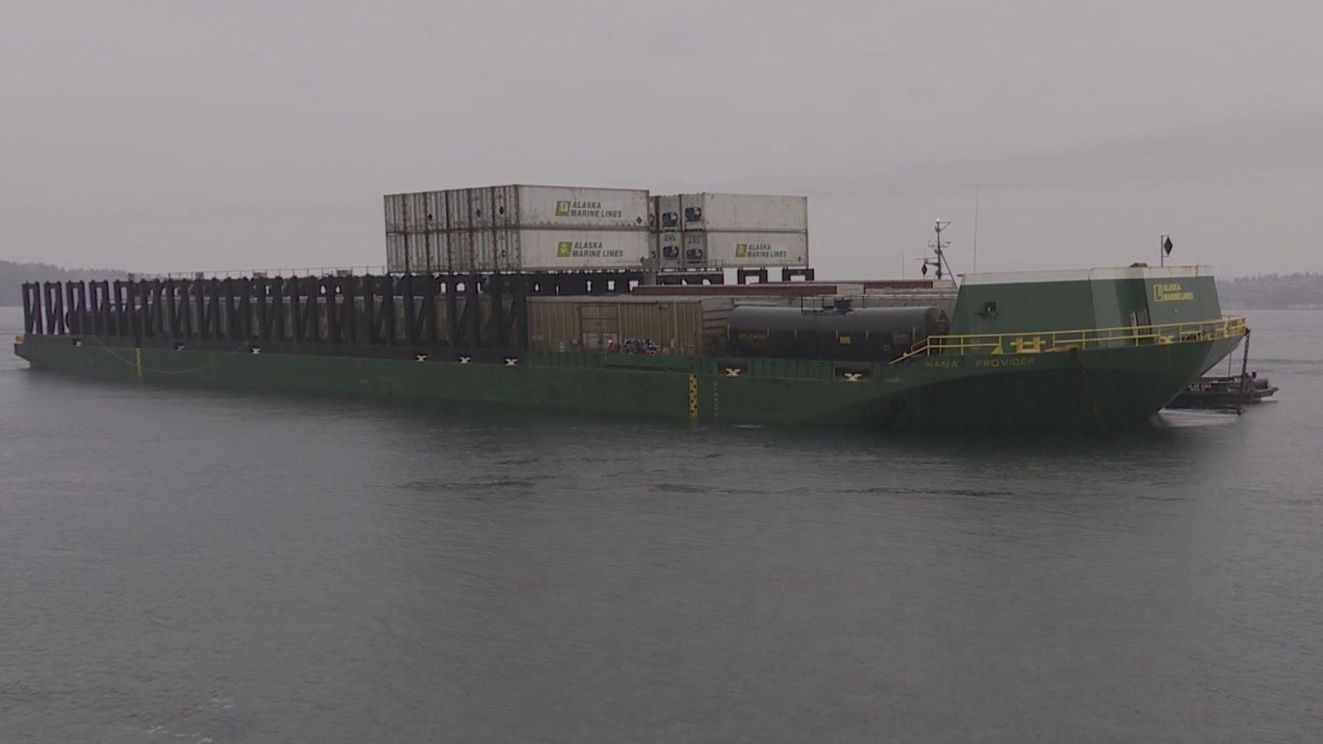 New developments in grounded barge on B.C. coast