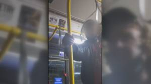 Another racist incident recorded on Metro Vancouver bus (01:22)