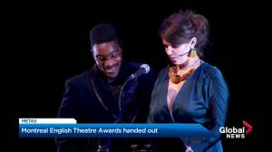 Montreal English Theatre Award winners for 2018-19 (00:54)
