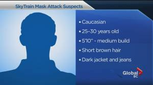 COVID-19: Woman attacked on SkyTrain over masks (01:16)