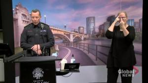 Calgary police chief says 'those who are blatantly ignoring the laws' is biggest challenge to COVID-19 enforcement (02:38)