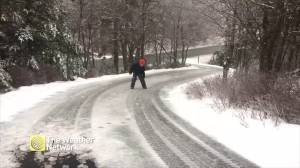 Winter storm creates slippery conditions in Nova Scotia