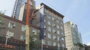 Former hotel on Granville Street now permanent supportive housing in Downtown Vancouver (02:17)
