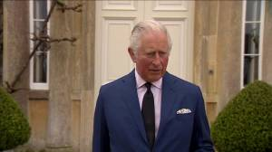 Prince Charles remembers 'most remarkable devoted service' of father Prince Philip (01:20)