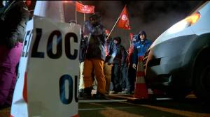Tensions escalate at Regina Co-op Refinery as van tries to cross picket line