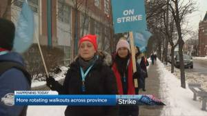 Teachers hold more rotating walkouts across Ontario
