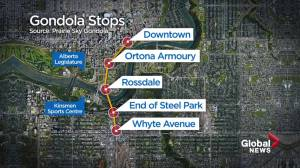 Gondola moves another step  forward with Edmonton city council approval (02:06)