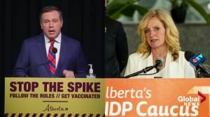 Too much or too little? Premier Jason Kenney faces political pressure from all sides with new COVID-19 restrictions (02:05)