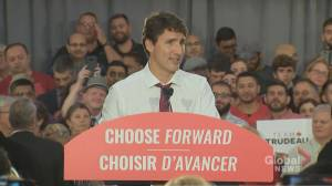 Federal Election 2019: Trudeau says Scheer 'wanted us to cave' on NAFTA