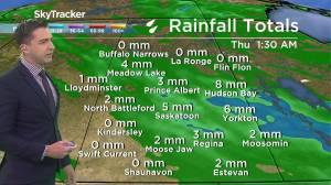 More seasonable: Sept. 2 Saskatchewan weather outlook