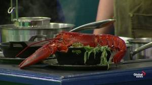 Lobster and pasta in the Global Edmonton Kitchen with Braven & Alchemy