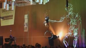 Beakerhead's 'The Ascent' pop-up event celebrates science, ingenuity (03:04)