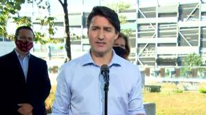 Canada election: Liberal government will support Alberta, Saskatchewan on COVID-19 vaccine certification, Trudeau says (02:54)