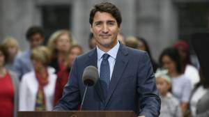 Liberal leader Justin Trudeau launches election campaign