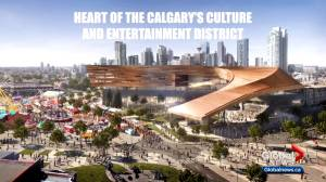 Calgary Stampede unveils design of $500M BMO Centre expansion (02:32)