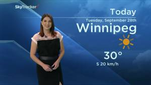 September 28 Weather Update with Kahla Evans (00:53)