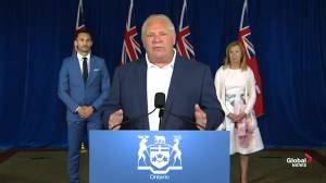 Ontario Premier Ford announce $234.6M in new funding for child care
