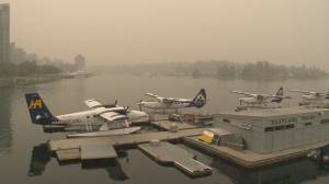 Concerns about the adverse effects of B.C. wildfire smoke pollution (02:31)