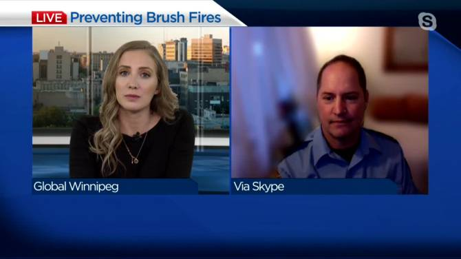 Click to play video: Dry spring and brush fire prevention