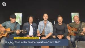 Hunter Brothers perform 'Hard Dirt'