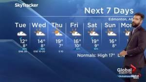 Global Edmonton weather forecast: Sept. 9