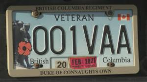 Veterans will be granted free parking year round in Vancouver (01:57)