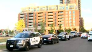 Man arrested after several shots fired from north-end Toronto apartment balcony