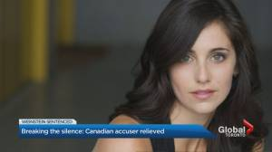 Canadian actress reflects on Harvey Weinstein verdict