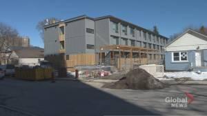 East York community pushes back against affordable housing development plans (01:53)