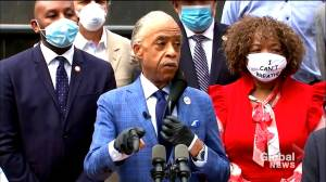 George Floyd death: Rev. Al Sharpton, Eric Garner's mother call for ban on police chokeholds