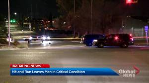 Man critically injured in Calgary hit and run collision early Friday morning (02:01)