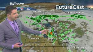 Storm risk lingers: August 27 Manitoba weather outlook (01:38)